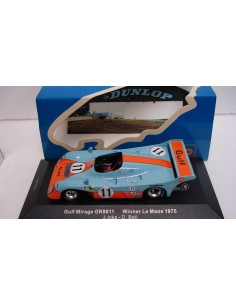 IXO GULF MIRAGE GR8 11 CAMPEON LE MANS 1975
