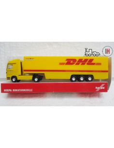 "HERPA CAMION MAN REMOLQUE ""DHL"""