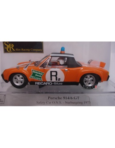 SRC PORSCHE 914/6 GT SAFETY CAR NURBÜRGRING 1973