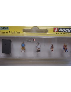 """NOCH """"ESCENAS DE WC"""" ESCALA N"""