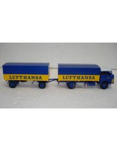 "BREKINA CAMION KRUPP LF 980 ""LUFTHANSA"""