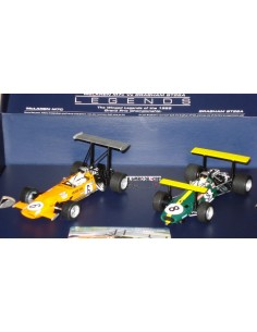 SUPERSLOT SET LEGENS MCLAREN M7c Vs BRABHAN BT26A