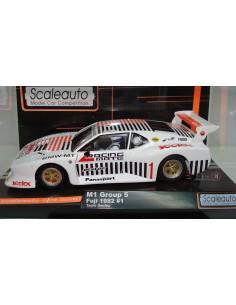SCALEAUTO BMW M1 FUJI 1982 Nº 1 TEAM SEELEX