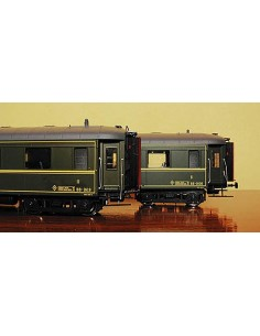 MABAR SET DOS COCHES VIAJEROS RENFE BB1619 Y BB1608