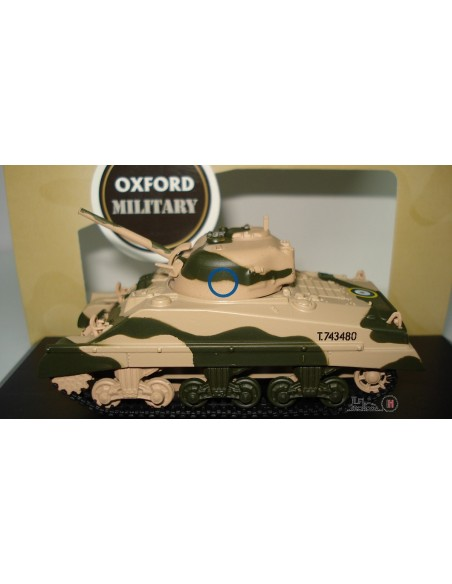 OXFORD SHERMAN TANK MK III 10th ARMOURED DIVISION 1942