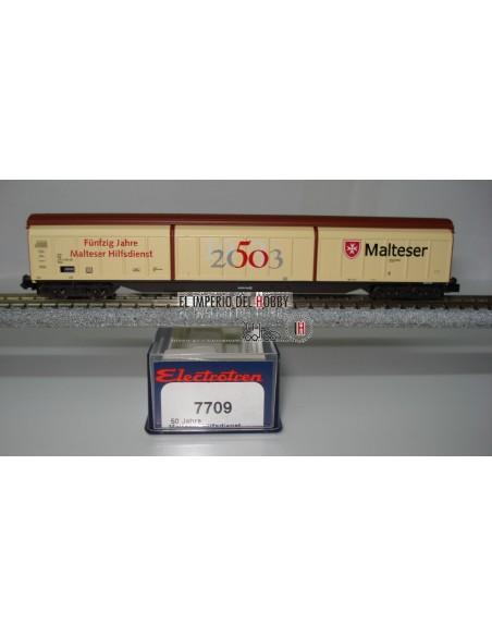 """ELECTROTREN VAGON HABBIS DB, """"50 J. MALTESSER HILFSDIENST"""""""