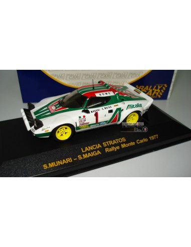 RALLY CAR LANCIA STRATOS RALLYE MONTECARLO 1977