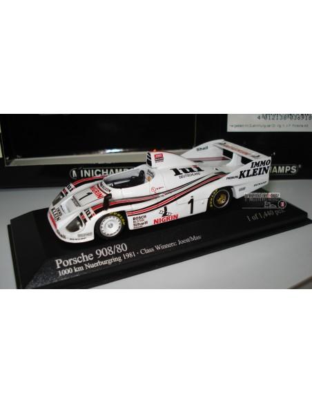MINICHAMPS PORSCHE 908/80 1000 Km NURBÜRGRING 1981