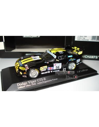 MINICHAMPS DODGE VIPER GTS-R LE MANS 1998