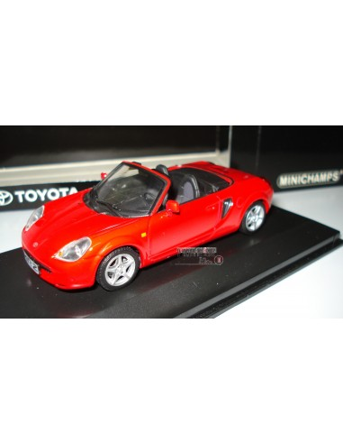 MINICHAMPS TOYOTA COUPE MR2 COUPE  CABRIOLET