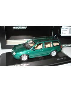 MINICHAMPS VW BORA VARIANT 1999 GREEN METALLIC