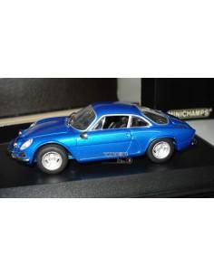 MINICHAMPS RENAULT ALPINE A110 1963-67 BLUE METALLIC