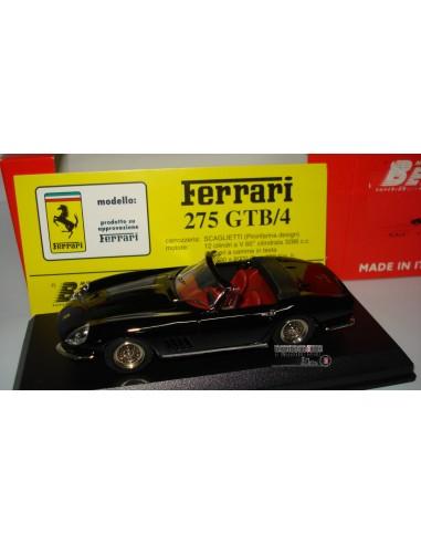 BESTMODEL FERRARI 275 GTB/4 SPIDER NERO/BLACK