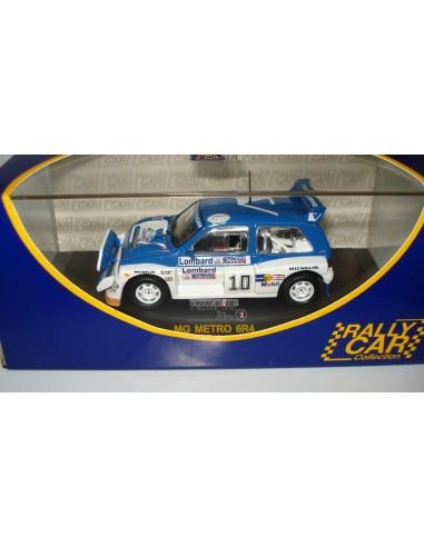 RALLY CAR MG METRO 6R4 RAC RALLY 1985