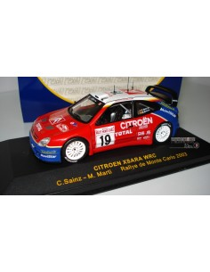 RALLY CAR CITROEN XSARA WRC RALLYE MONTE CARLO 2003