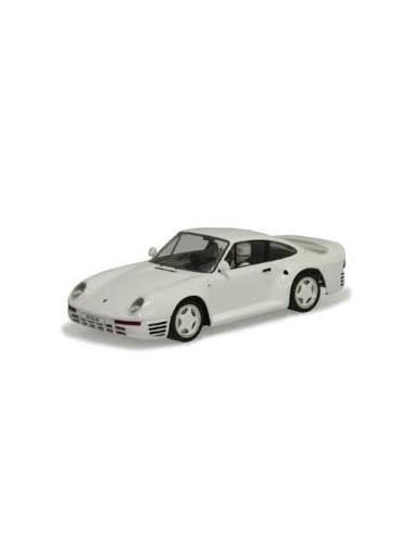 MSC PORSCHE 959 STREET CAR WHITE-MONTECARLO CHASIS