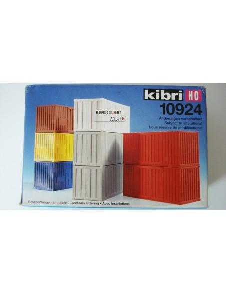 KIBRI 8 CONTENEDORES DE 20 PIES.