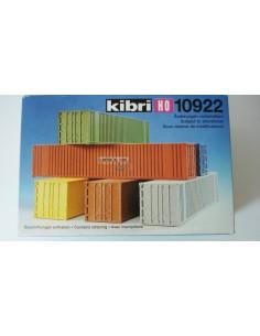 KIBRI 6 CONTENEDORES DE 40 PIES.