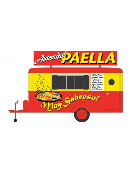"""ARNOLD TRAILER DE COMIDA """"PAELLA"""""""