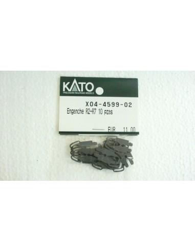 KATO ENGANCHE R2-R7 10 PIEZAS