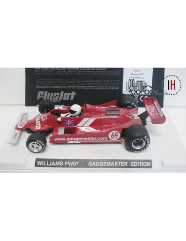 FLYSLOTCARS WILLIAMS FW07